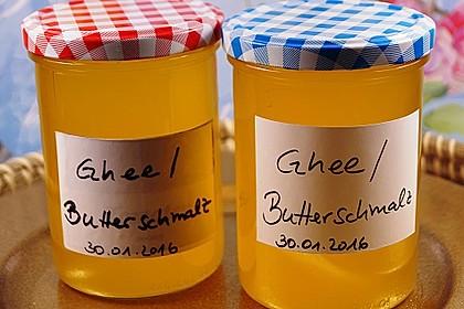 Ghee, bzw. Butterschmalz, selber hergestellt 5
