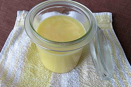 Ghee, bzw. Butterschmalz, selber hergestellt 17
