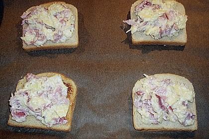 Überbackener Toast 2