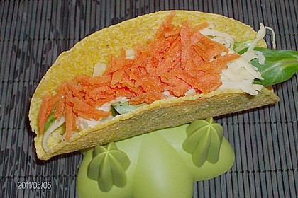 Frühlings - Tacos mit Hähnchen 0