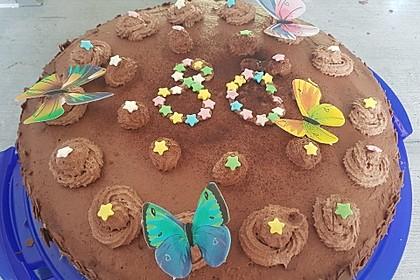 Mousse au Chocolat - Torte