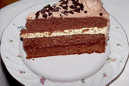 Mousse au Chocolat - Torte 4