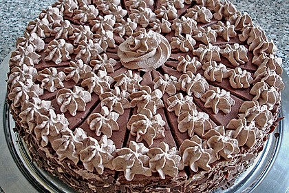 Mousse au Chocolat - Torte 2