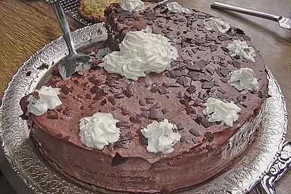 Mousse au Chocolat - Torte 45