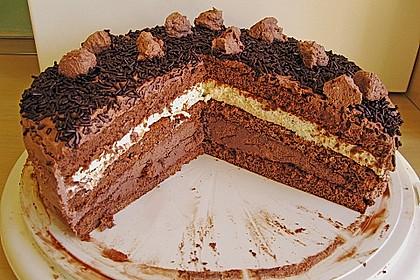 Mousse au Chocolat - Torte 16