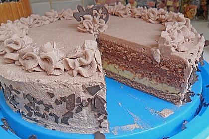 Mousse au Chocolat - Torte 7