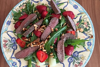 Spargel - Erdbeer - Salat 2