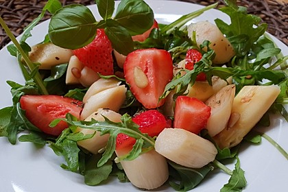 Spargel-Erdbeersalat 1