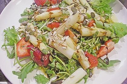 Spargel - Erdbeer - Salat 36