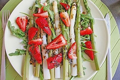 Spargel - Erdbeer - Salat 12