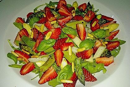 Spargel - Erdbeer - Salat 21