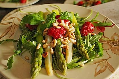Spargel - Erdbeer - Salat 7