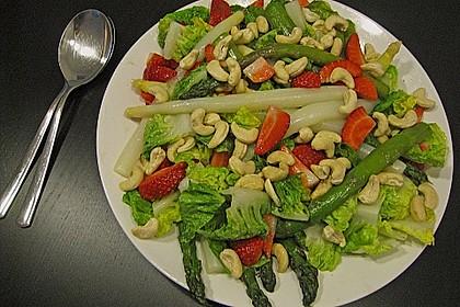 Spargel - Erdbeer - Salat 46