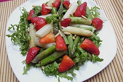 Spargel - Erdbeer - Salat 10