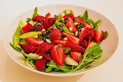 Spargel - Erdbeer - Salat 5