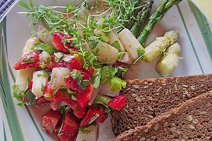 Spargel - Erdbeer - Salat 23