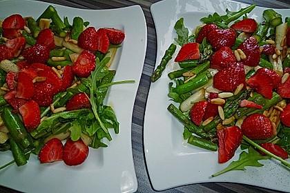 Spargel - Erdbeer - Salat 16