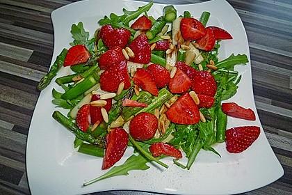 Spargel - Erdbeer - Salat 13