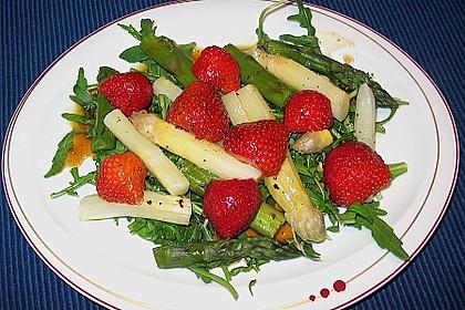 Spargel - Erdbeer - Salat 35