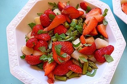 Spargel - Erdbeer - Salat 18