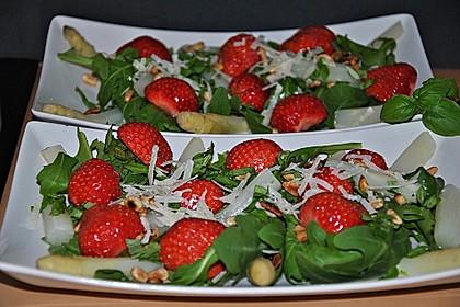 Spargel - Erdbeer - Salat 6