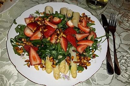 Spargel - Erdbeer - Salat 11