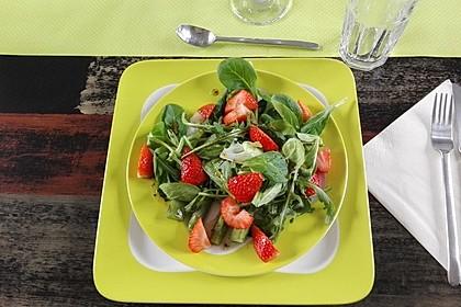 Spargel - Erdbeer - Salat 27