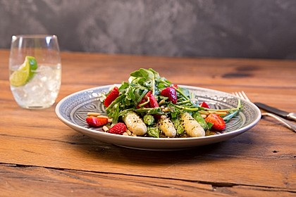 Spargel - Erdbeer - Salat 4