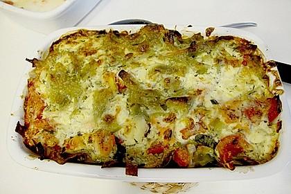Butternudeln mit Lachs und Mozzarella 6