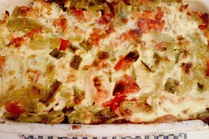 Butternudeln mit Lachs und Mozzarella 24