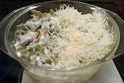 Butternudeln mit Lachs und Mozzarella 23