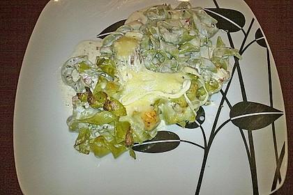 Butternudeln mit Lachs und Mozzarella 11