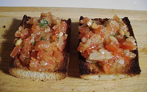 Bruschetta italiano 7