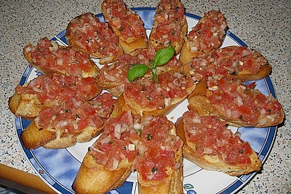 Bruschetta italiana 75