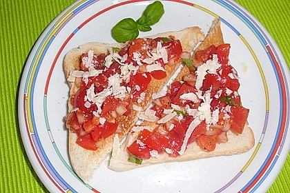 Bruschetta italiana 90
