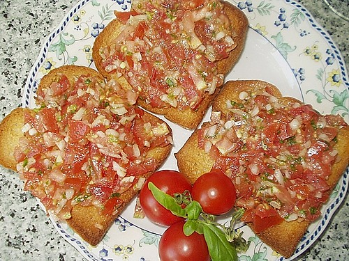 Bruschetta italiano 0