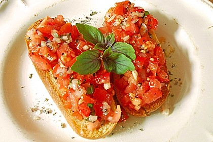 Bruschetta italiana 0