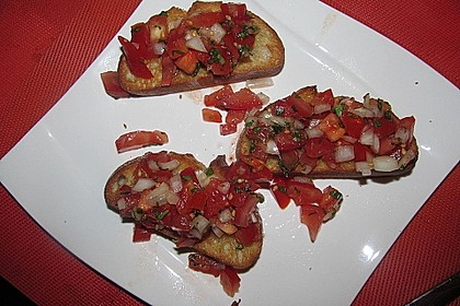 Bruschetta italiana 92
