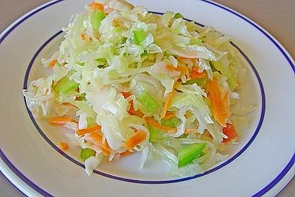 Weißkohl - Partysalat 1