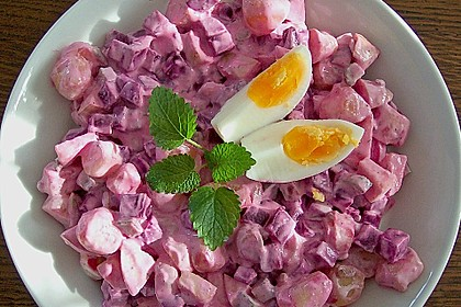 Rote Bete Kartoffelsalat 1