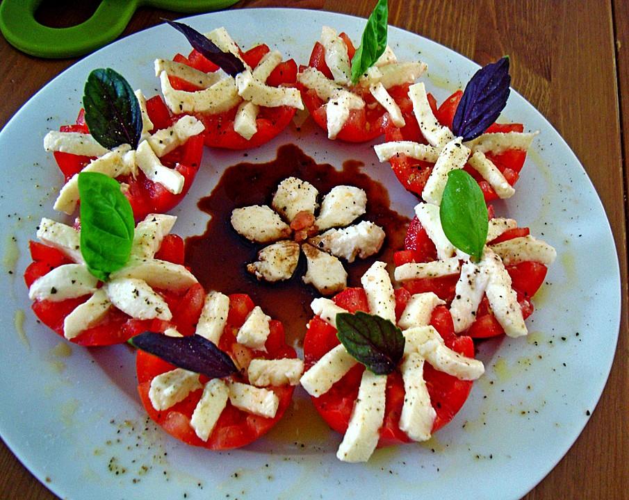 mozarella mit tomaten rezept mit bild von gudrunn. Black Bedroom Furniture Sets. Home Design Ideas