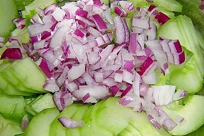 Asiatischer Gurkensalat 9