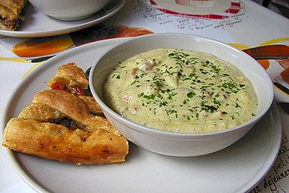 Ibu's kalte Zucchini - Joghurt - Suppe 3