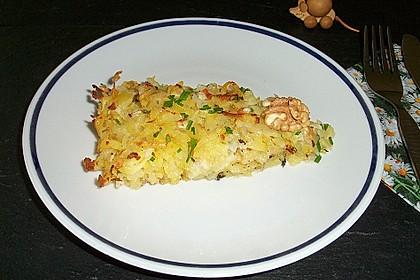 Kartoffelgratin mit Nüssen 2