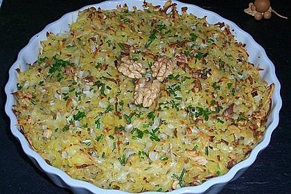 Kartoffelgratin mit Nüssen 1
