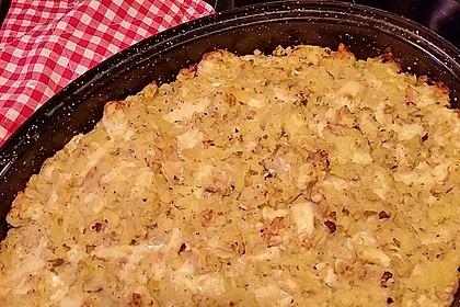 Kartoffelgratin mit Nüssen