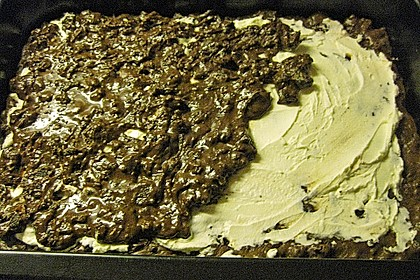 Oreo Brownies with Cream Cheese Swirls 24