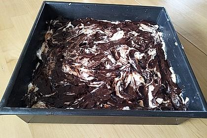 Oreo Brownies with Cream Cheese Swirls 25