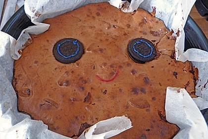 Oreo Brownies with Cream Cheese Swirls 7