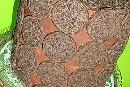 Oreo Brownies with Cream Cheese Swirls 6